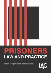 Prisoners: law and practice