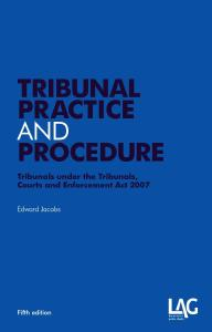 Description: Tribunal practice and procedure
