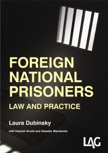 Description: Foreign national prisoners: law and practice