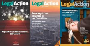 Description: Annual subscription to Legal Action Magazine