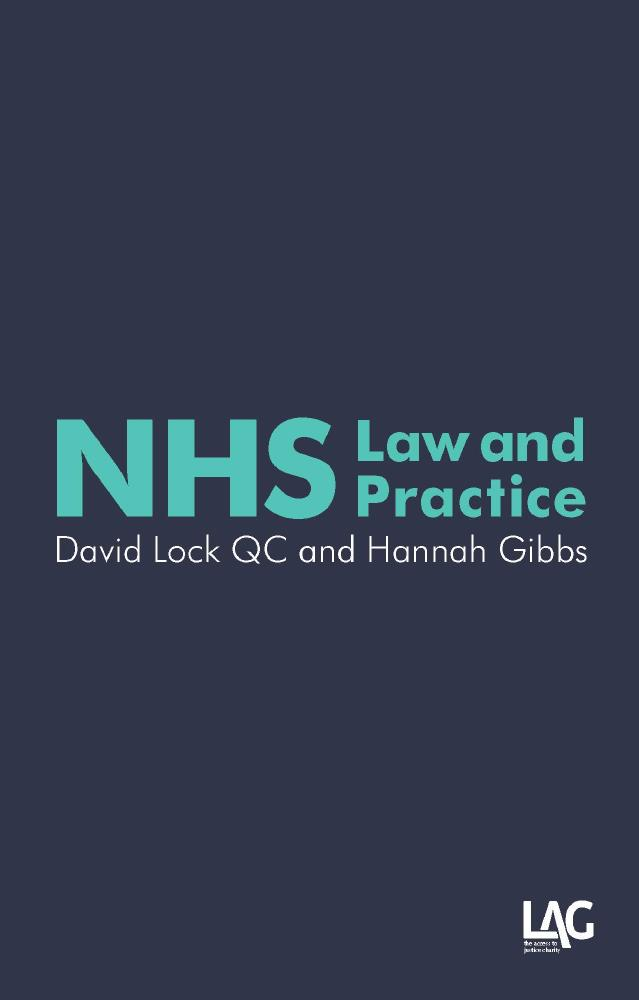 Description: NHS Law and Practice