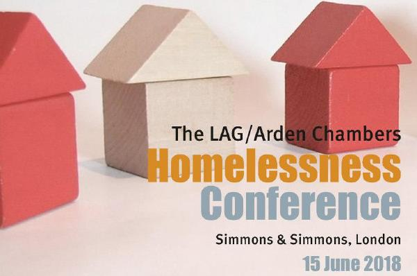 SOLD OUT- The LAG/Arden Chambers Homelessness Conference