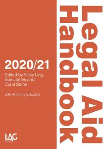 Description: Legal Aid Handbook 2020/21