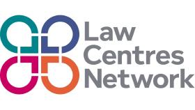 Description: Law Centres Network logo