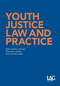 Description: Youth Justice Law and Practice