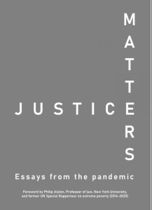 Description: Justice Matters: essays from the pandemic