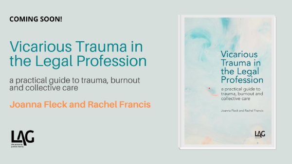 Description: Vicarious Trauma in the Legal Profession - Meet the authors book launch